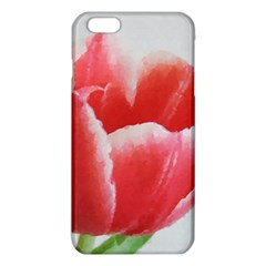 Tulip Red Watercolor Painting Iphone 6 Plus/6s Plus Tpu Case