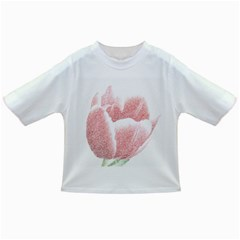 Tulip Red Pencil Drawing Art Infant/toddler T Shirts