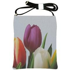 Tulips Shoulder Sling Bags