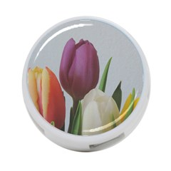 Tulips 4-Port USB Hub (Two Sides)