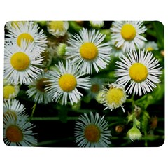 White Summer Flowers Oil Painting Art Jigsaw Puzzle Photo Stand (rectangular)