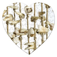 Hanging Human Teeth Dentist Funny Dream Catcher Dental Jigsaw Puzzle (Heart)