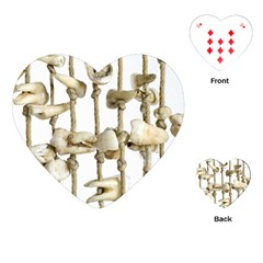 Hanging Human Teeth Dentist Funny Dream Catcher Dental Playing Cards (Heart)
