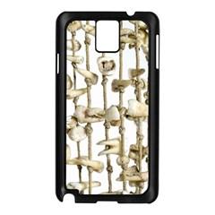 Hanging Human Teeth Dentist Funny Dream Catcher Dental Samsung Galaxy Note 3 N9005 Case (Black)