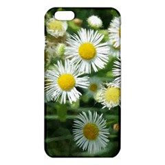White Summer Flowers Watercolor Painting Art Iphone 6 Plus/6s Plus Tpu Case