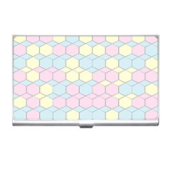 Colorful Honeycomb   Diamond Pattern Business Card Holders