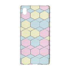 Colorful Honeycomb   Diamond Pattern Sony Xperia Z3+