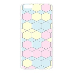 Colorful honeycomb - diamond pattern Apple Seamless iPhone 6 Plus/6S Plus Case (Transparent)