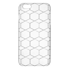 Honeycomb   Diamond Black And White Pattern Iphone 6 Plus/6s Plus Tpu Case