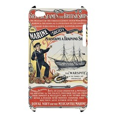 Vintage Advertisement British Navy Marine Typography Apple iPod Touch 4
