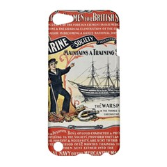 Vintage Advertisement British Navy Marine Typography Apple iPod Touch 5 Hardshell Case