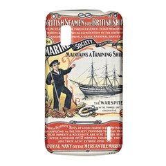 Vintage Advertisement British Navy Marine Typography LG Nexus 4