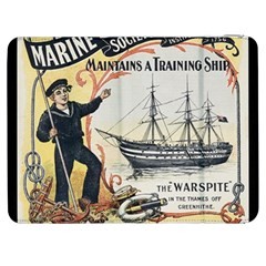 Vintage Advertisement British Navy Marine Typography Samsung Galaxy Tab 7  P1000 Flip Case