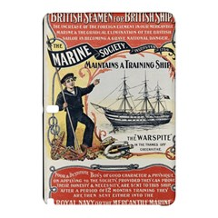 Vintage Advertisement British Navy Marine Typography Samsung Galaxy Tab Pro 10.1 Hardshell Case