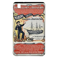 Vintage Advertisement British Navy Marine Typography Samsung Galaxy Tab Pro 8.4 Hardshell Case