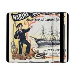 Vintage Advertisement British Navy Marine Typography Samsung Galaxy Tab Pro 8.4  Flip Case