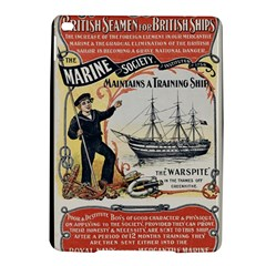 Vintage Advertisement British Navy Marine Typography iPad Air 2 Hardshell Cases