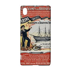 Vintage Advertisement British Navy Marine Typography Sony Xperia Z3+