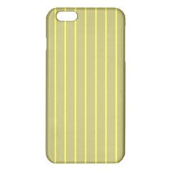 Summer Sand Color Yellow Stripes Pattern Iphone 6 Plus/6s Plus Tpu Case