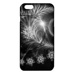 Silver Feather And Ball Decoration Iphone 6 Plus/6s Plus Tpu Case