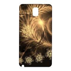 Golden Feather And Ball Decoration Samsung Galaxy Note 3 N9005 Hardshell Back Case
