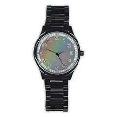 Between The Rainbow Stainless Steel Round Watch