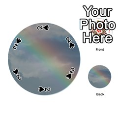 Rainbow In The Sky Playing Cards 54 (round)