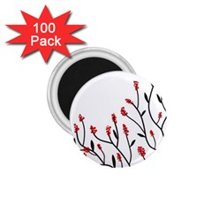 Elegant tree 1.75  Magnets (100 pack)