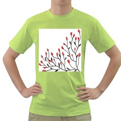 Elegant tree Green T-Shirt