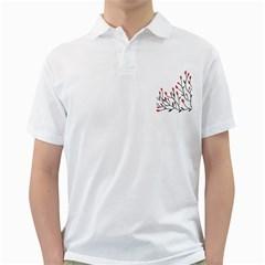 Elegant tree Golf Shirts