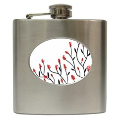 Elegant tree Hip Flask (6 oz)