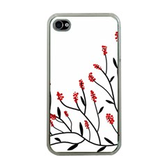 Elegant tree Apple iPhone 4 Case (Clear)
