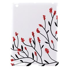 Elegant tree Apple iPad 3/4 Hardshell Case (Compatible with Smart Cover)
