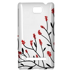 Elegant tree HTC 8S Hardshell Case