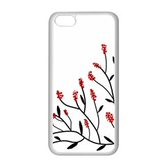 Elegant tree Apple iPhone 5C Seamless Case (White)