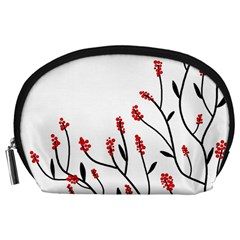 Elegant tree Accessory Pouches (Large)