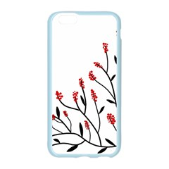 Elegant tree Apple Seamless iPhone 6/6S Case (Color)