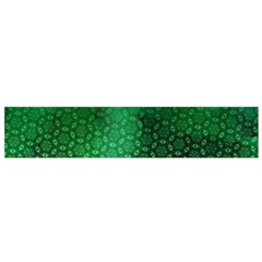 Ombre Green Abstract Forest Flano Scarf (Small)