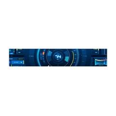 Technology Dashboard Flano Scarf (Mini)