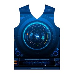 Technology Dashboard Men s Basketball Tank Top