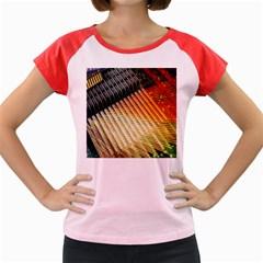 Technology Circuit Women s Cap Sleeve T-Shirt