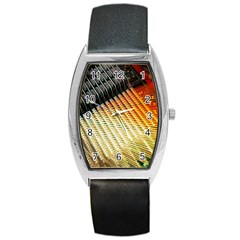 Technology Circuit Barrel Style Metal Watch