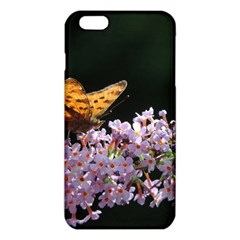 Butterfly sitting on flowers iPhone 6 Plus/6S Plus TPU Case