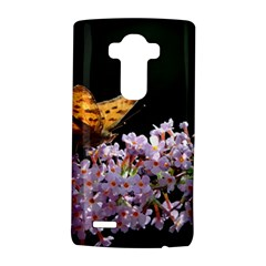 Butterfly Sitting On Flowers Lg G4 Hardshell Case