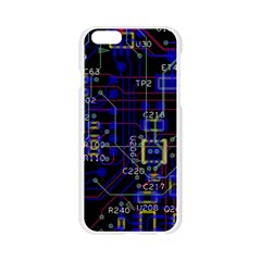 Technology Circuit Board Layout Apple Seamless iPhone 6/6S Case (Transparent)