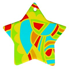 Colorful decor Ornament (Star)
