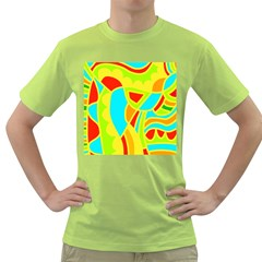 Colorful decor Green T-Shirt