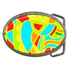 Colorful decor Belt Buckles