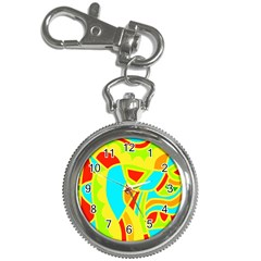 Colorful decor Key Chain Watches