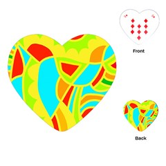 Colorful Decor Playing Cards (heart)